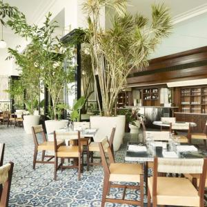 The Dining Room At American Trade Hotel