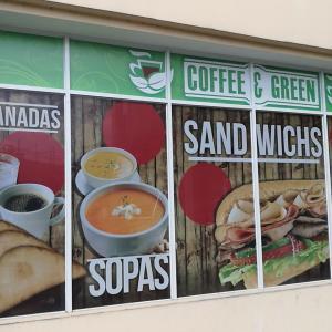 Coffee and Green Panama